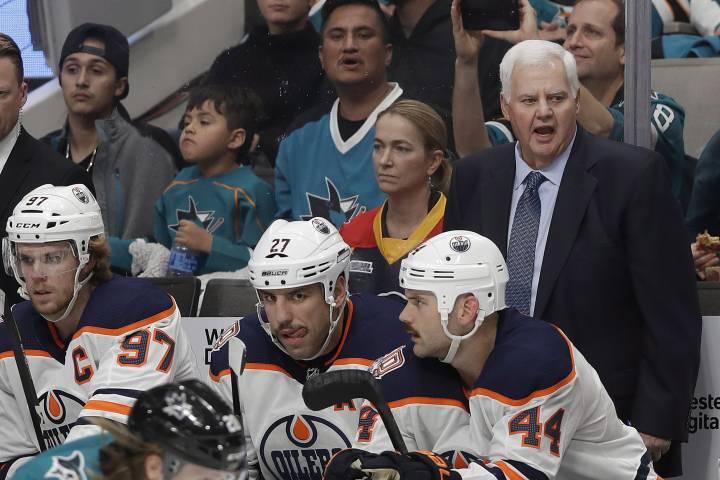 Edmonton Oilers score overtime win in Ken Hitchcock's first game