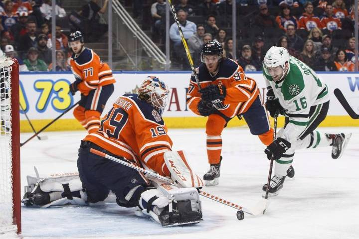 Koskinen saves, Klefbom scores as Edmonton Oilers beat Dallas Stars in OT