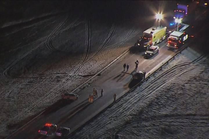 2 men killed in Highway 19 crash south of Edmonton