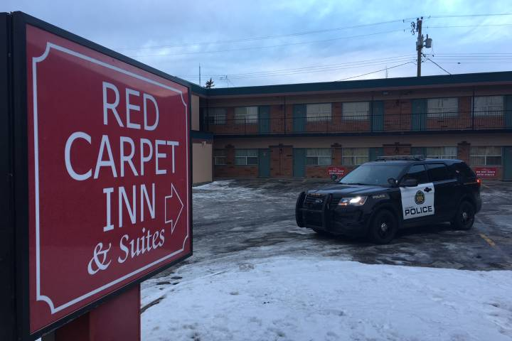 Calgary police charge man in connection with motel death