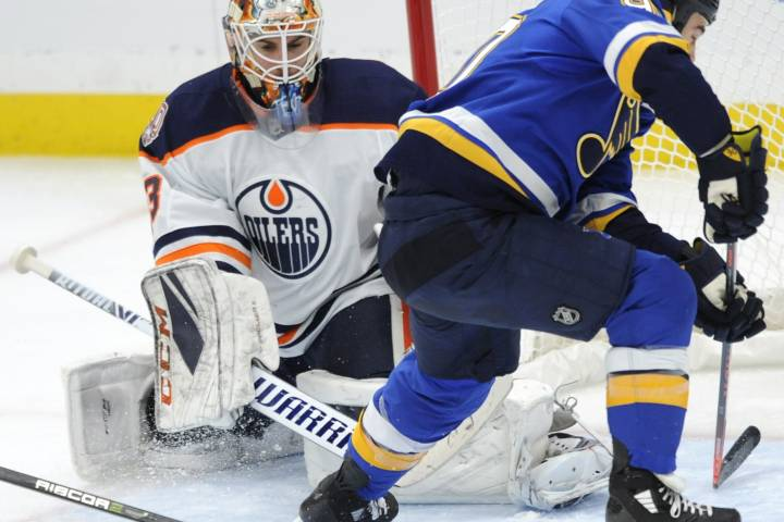 Cam Talbot gets 100th win with Edmonton Oilers