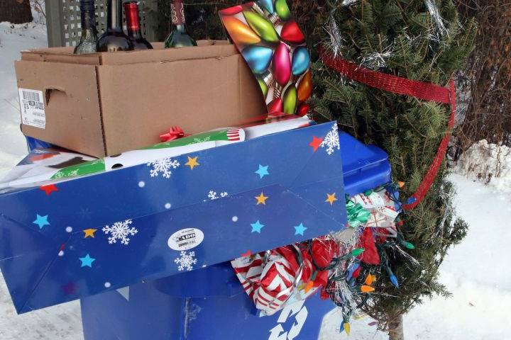 City offers tips to help Edmontonians reduce holiday waste