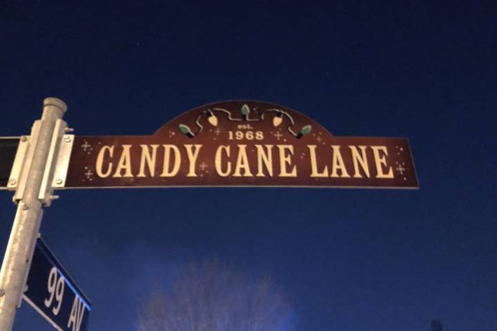 Edmonton's 'Candy Cane Lane' receives honorary name for its holiday decorations
