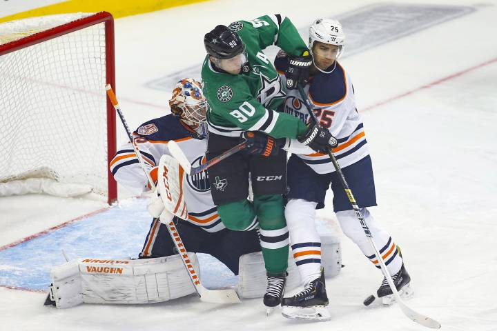 Edmonton Oilers come up dry in Dallas