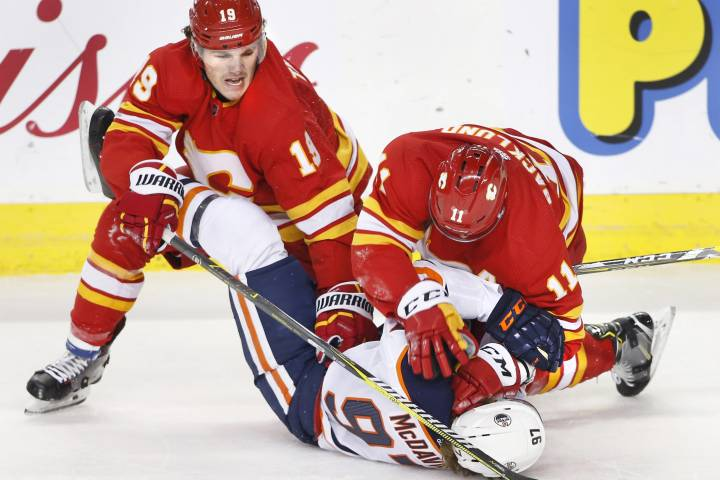 Edmonton Oilers find focus ahead of rematch with feisty Flames