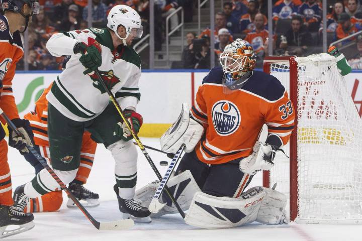 Edmonton Oilers go with Talbot in goal against Wild