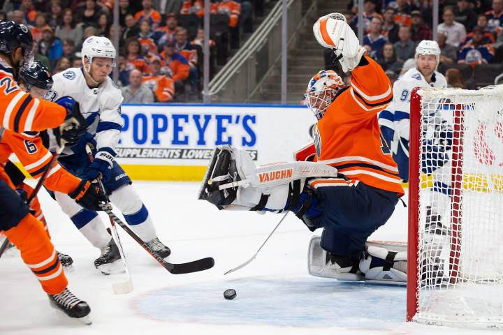 Edmonton Oilers latest to lose to Lightning
