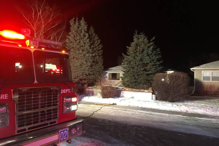 Elderly woman rushed to hospital in life-threatening condition after house fire in northwest Calgary