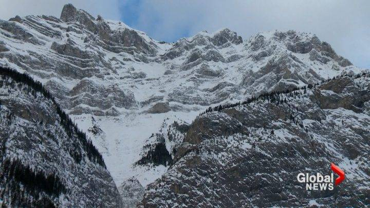Ice climber dies after fall in Banff on Christmas Day