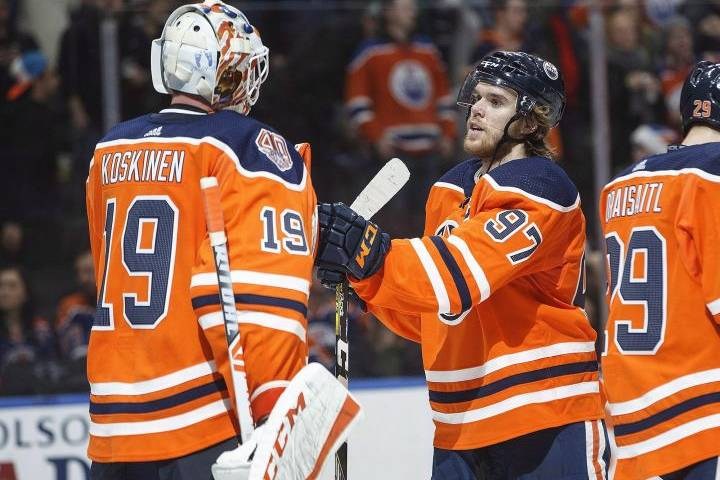 Koskinen excelling with Edmonton Oilers since returning to NHL