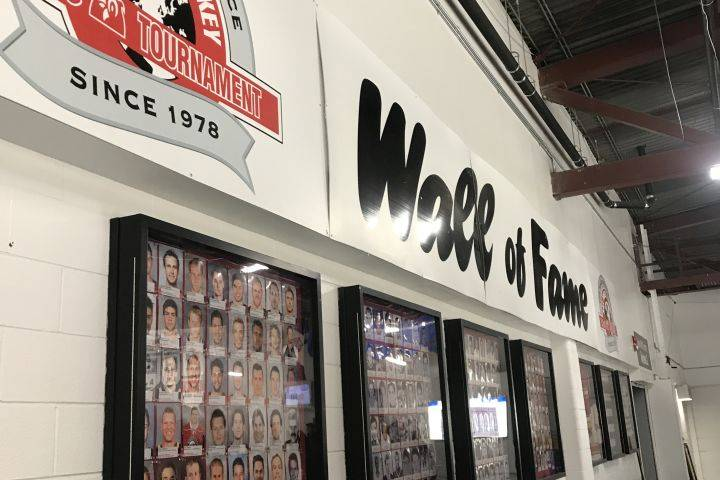 Mac's AAA Hockey Tournament honours excellence with updated Wall of Fame