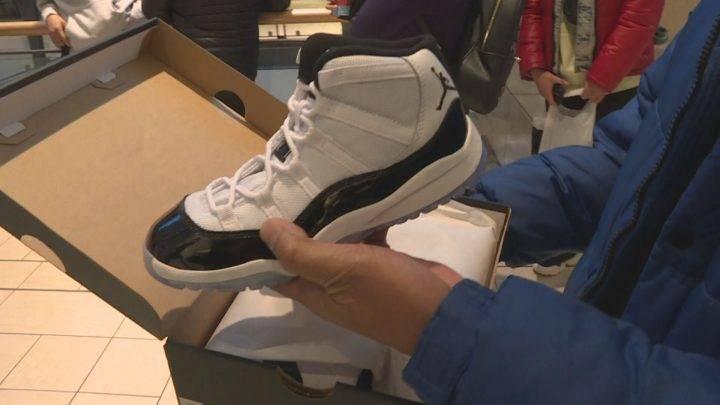 New Air Jordan 11 Concord sneakers hit shelves in Calgary