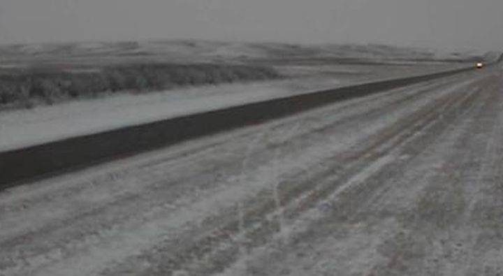 RCMP called to 4-vehicle crash in east Alberta area under freezing drizzle advisory