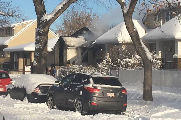 Reports of explosion at north Edmonton house fire