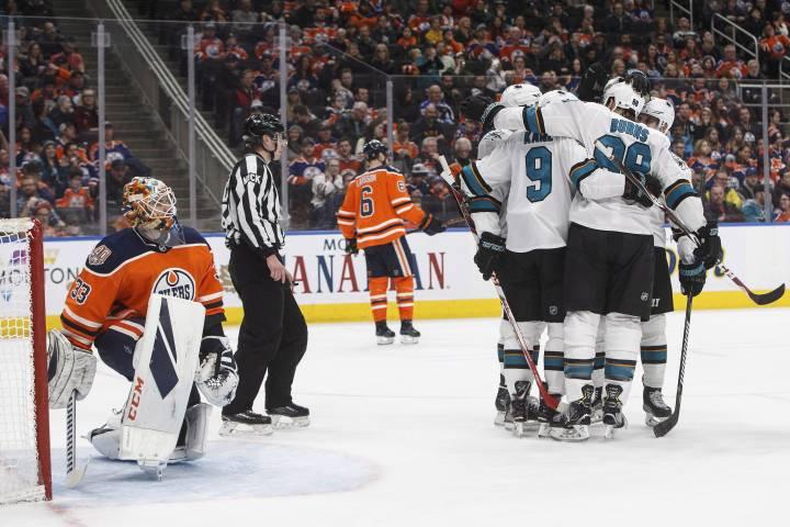 San Jose Sharks feast on Edmonton Oilers with 7-4 win