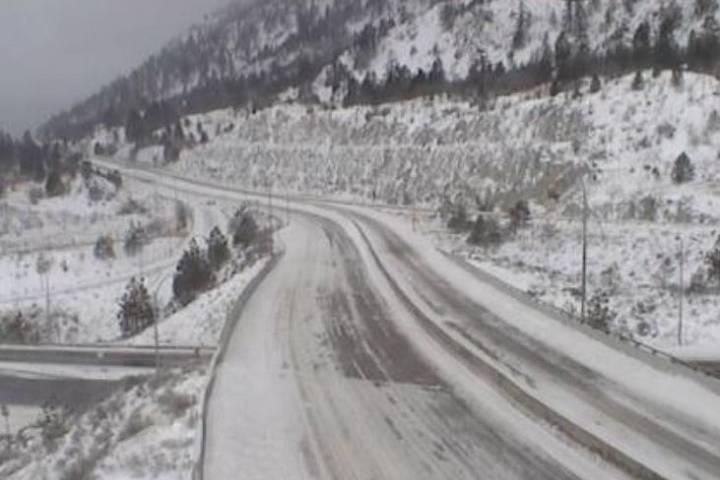 Snow-filled storm system turns B.C.'s Interior into white wonderland