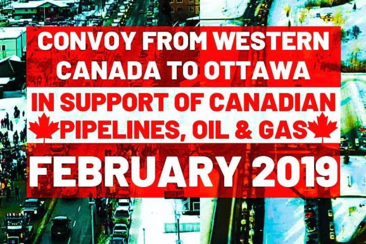 Western Canadian grassroots group plans 'Convoy to Ottawa' to push pipelines