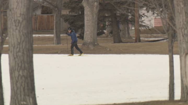 Calgary ski trails close despite access to snowmaking equipment