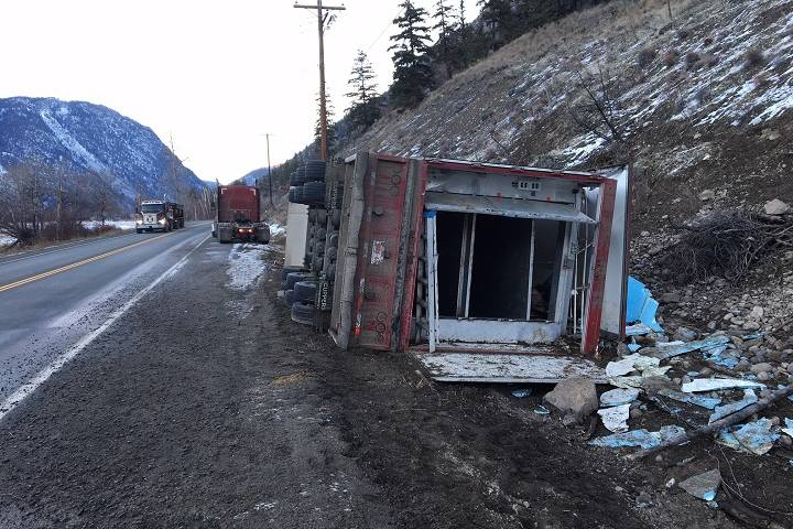 Dead, dying and distressed pigs left behind after B.C. highway crash