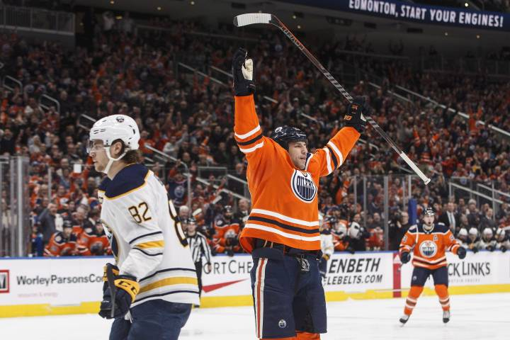 Edmonton Oilers bust out against Sabres