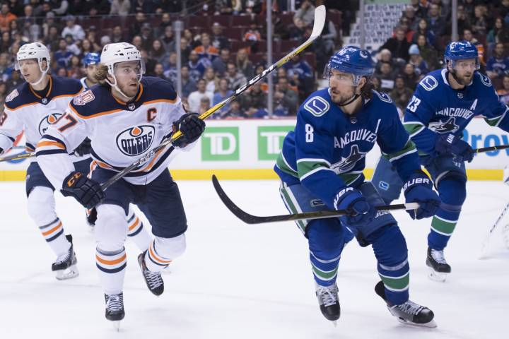 Edmonton Oilers escape Vancouver with shootout win