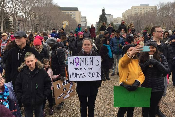 Edmonton among Canadian communities holding 3rd annual Women's March