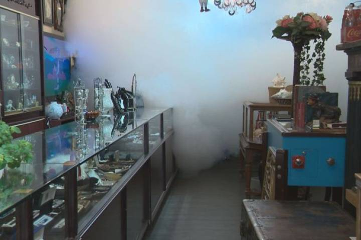Edmonton cannabis store owner wants permission to use smoke security system