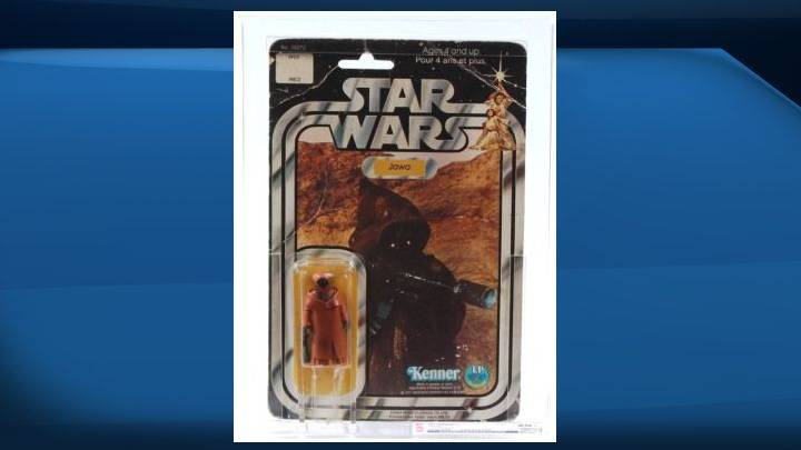 Edmonton collector selling rare Star Wars figurine for $30K