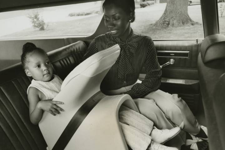 Evolution of child car seats: From straps and Tot-Guard to 5-point safety harness