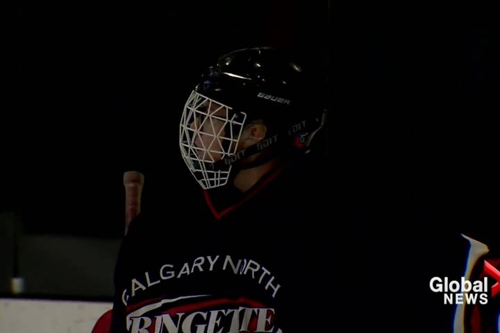 In Alberta, more young men are embracing ringette as their ice sport of choice