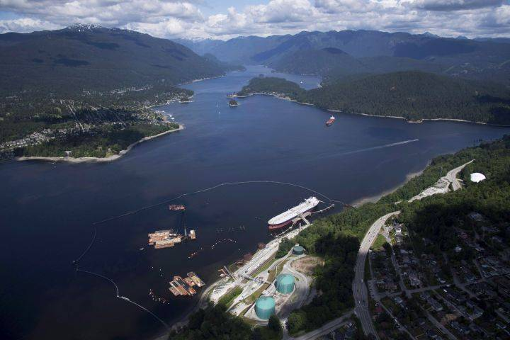 National Energy Board wants marine protection program from Trans Mountain pipeline builder