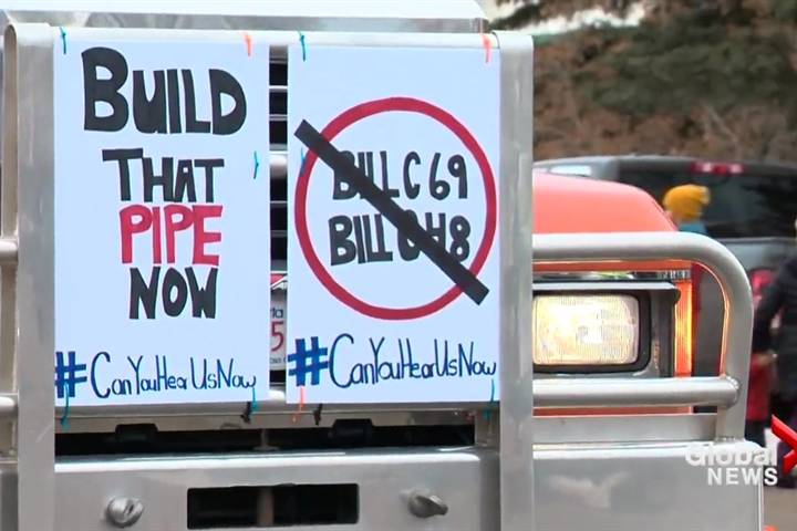 Organizers worry truck convoy confusion could threaten pro-pipeline message