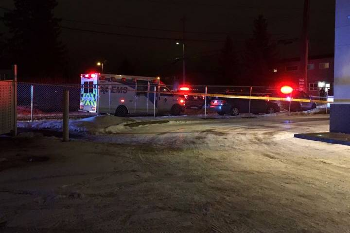 Police confirm scene in Edmonton's Gold Bar neighbourhood related to officer-involved shooting
