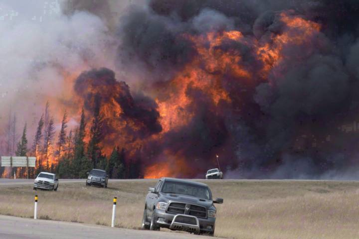 Students still dealing with mental illness after 2016 Fort McMurray fires: study