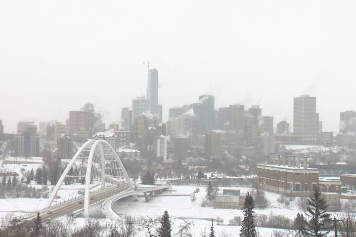 Extreme cold warning lifted for Edmonton
