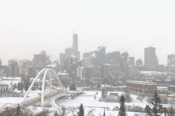 Extreme cold warning returns to Edmonton and many parts of Alberta