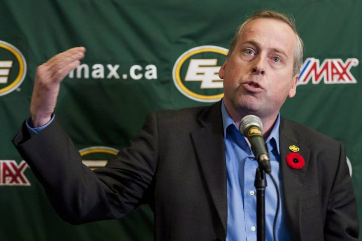 Former Eskimos boss Len Rhodes running for UCP in Edmonton-Meadows
