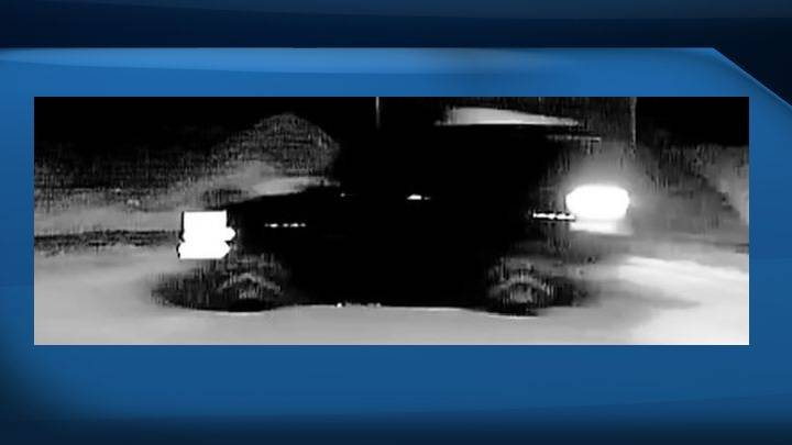 Police release photos of suspect vehicle in relation to deadly south Edmonton shooting