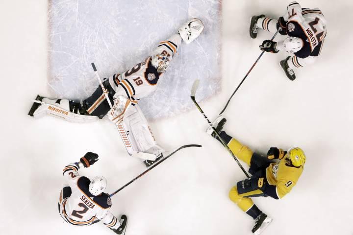 Predators slip by Edmonton Oilers in shootout