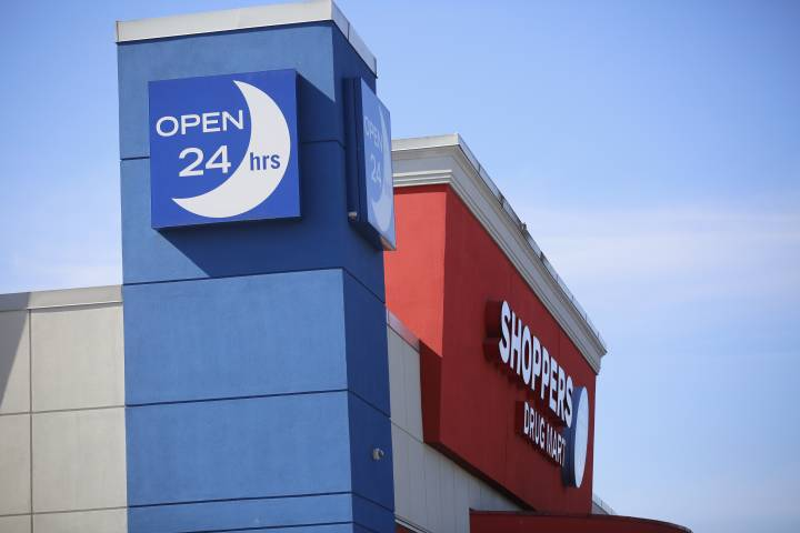 Shoppers Drug Mart in Alberta will no longer be open 24 hours