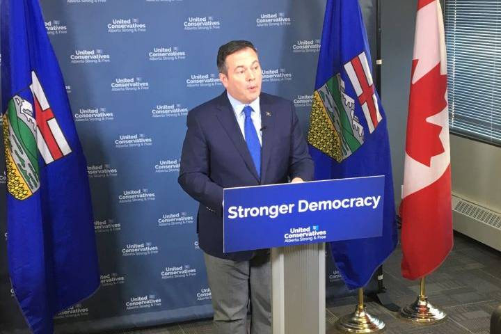UCP's Jason Kenney pitches fixed vote date, changes to tax rules ahead of spring election