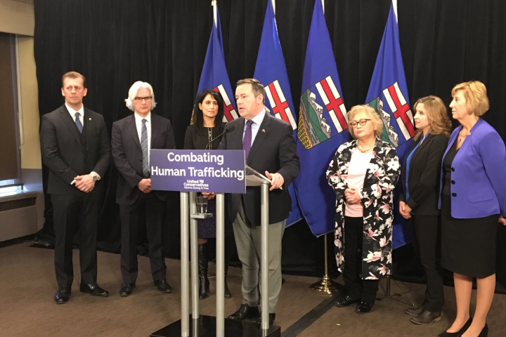 United Conservative Party unveils plan to fight human trafficking in Alberta