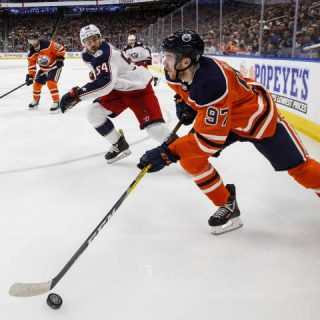3 goals in the third takes Edmonton Oilers past Blue Jackets