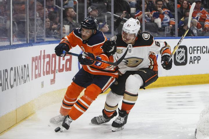 Edmonton Oilers host Ducks to close out homestand
