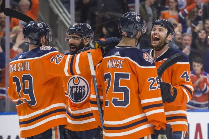 Edmonton Oilers riding positive energy into game against Devils