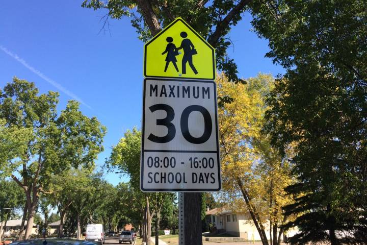 Edmonton city council asked to finally set slower neighbourhood speed limits