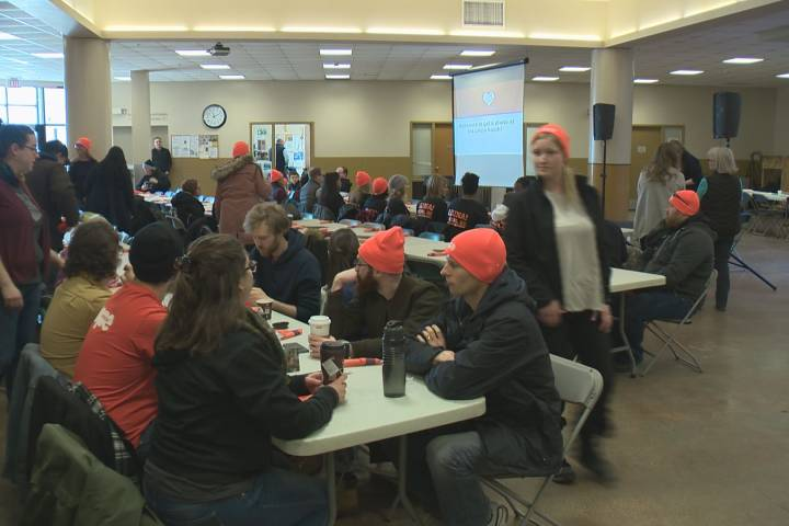 Extreme cold forces fundraiser for Edmonton's Hope Mission indoors