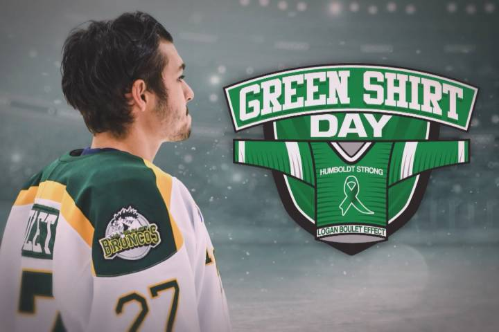 Family of Humboldt Bronco Logan Boulet announce April 7 as Green Shirt Day 'to honour his legacy'