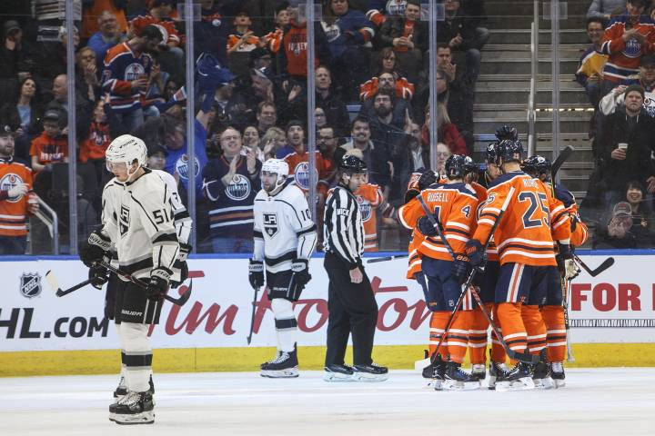 Hats off! RNH and Leon score 3 each in Edmonton Oilers win