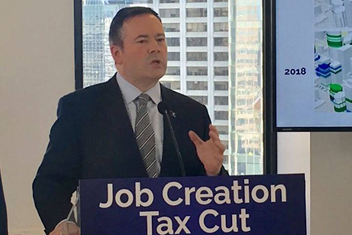 Jason Kenney says UCP government would cut Alberta's corporate tax rate